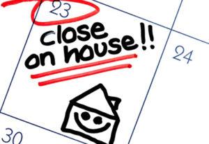 closing house